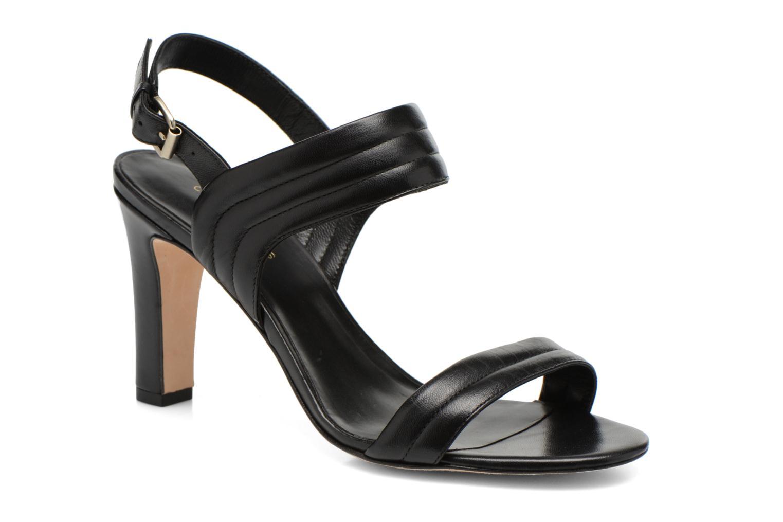 Sandals COSMOPARIS Pipa Black detailed view/ Pair view
