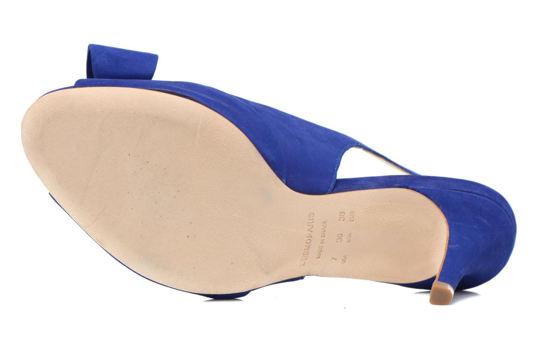 Sandales et nu-pieds COSMOPARIS Solale Bleu vue haut