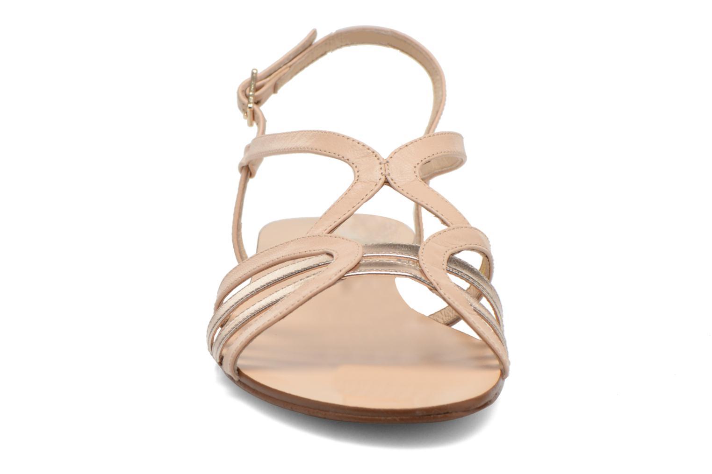 Sandales et nu-pieds COSMOPARIS Glaci Beige vue portées chaussures