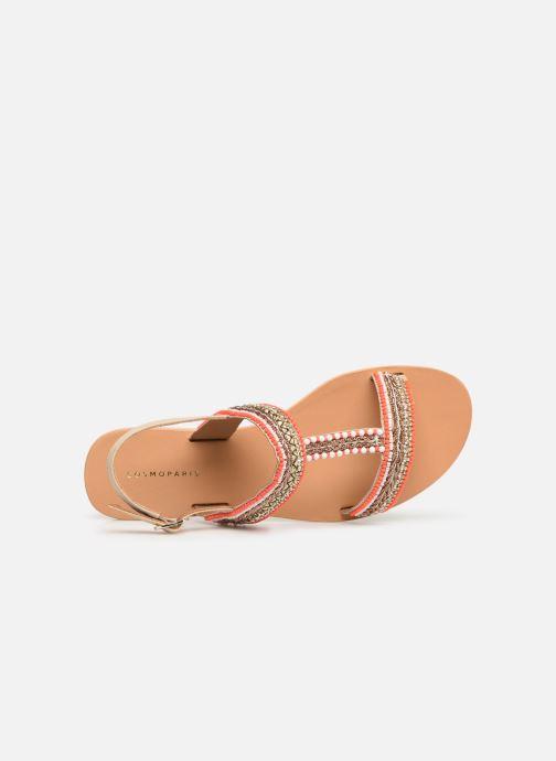 pieds Nu orange Et Sandales Cosmoparis Chez Ibane ZvSqXxwU