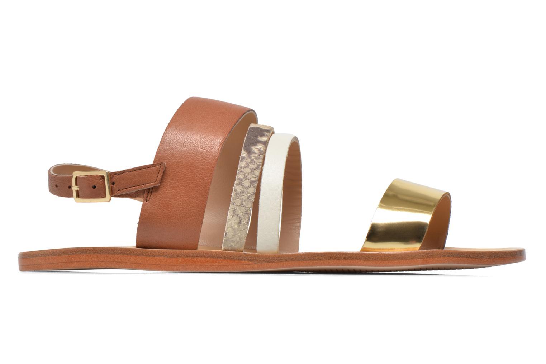 Sandals COSMOPARIS Lanea/bi Multicolor back view