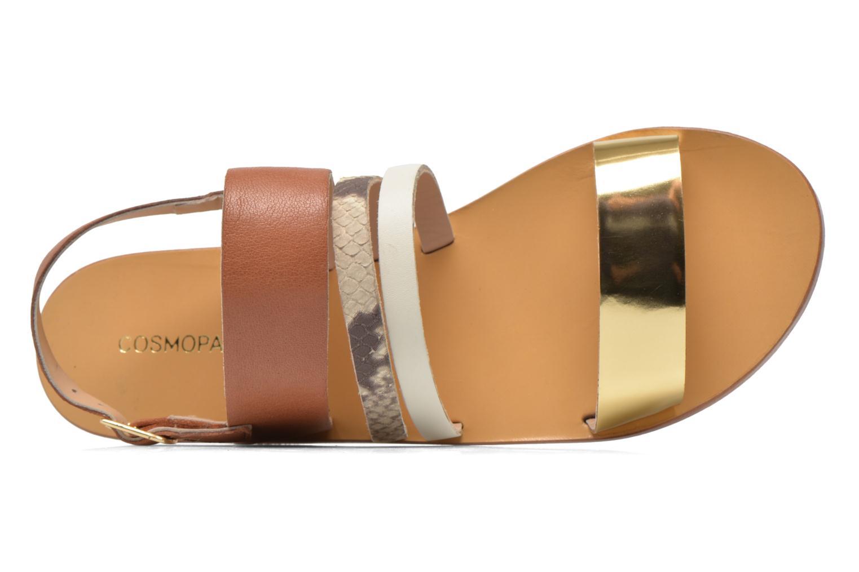 Sandals COSMOPARIS Lanea/bi Multicolor view from the left