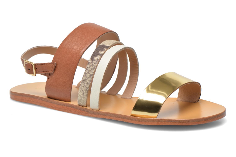 Sandals COSMOPARIS Lanea/bi Multicolor detailed view/ Pair view