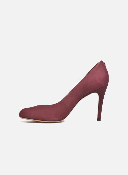Zapatos de tacón COSMOPARIS Jelissa nub Vino vista de frente