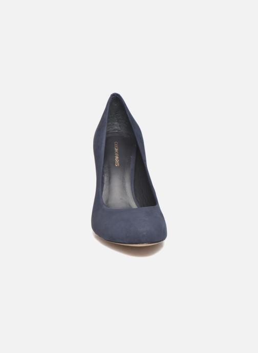 Zapatos de tacón COSMOPARIS Jelissa nub Azul vista del modelo