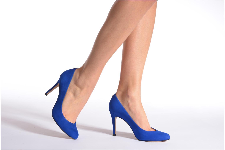 Zapatos de tacón COSMOPARIS Jelissa nub Azul vista de abajo