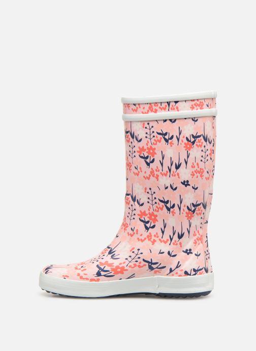 Støvler & gummistøvler Aigle Lolly Pop Kid Pink se forfra
