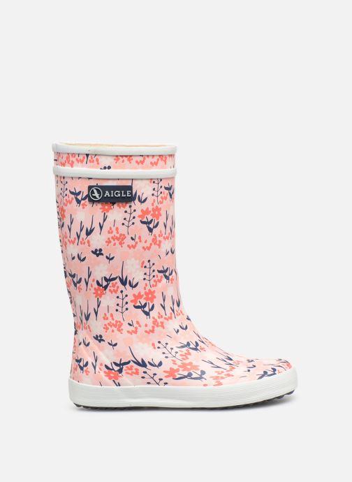 Støvler & gummistøvler Aigle Lolly Pop Kid Pink se bagfra