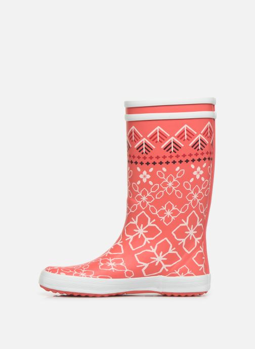Bottes Aigle Lolly Pop Kid Rose vue face