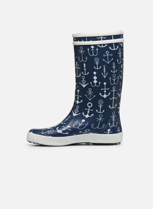 Botas Aigle Lolly Pop Kid Azul vista de frente