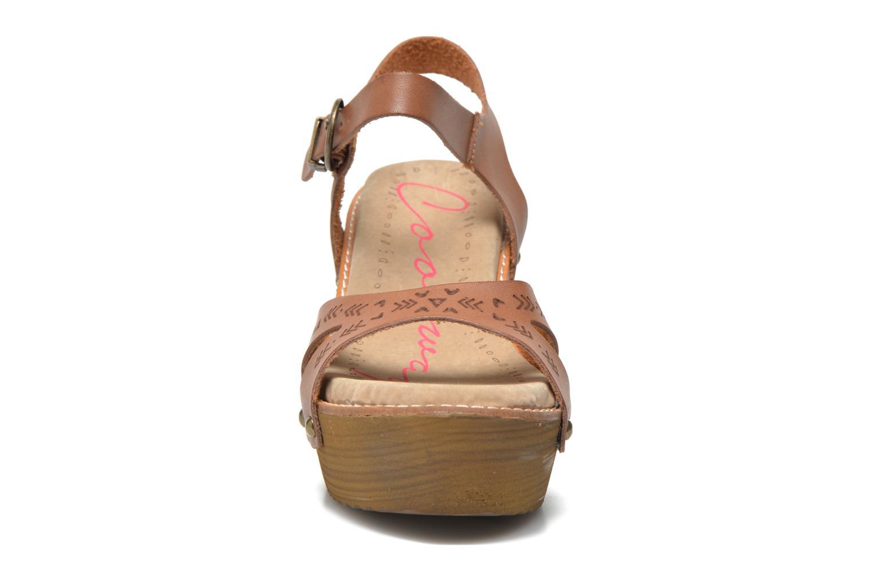 Sandalen Coolway Caleb braun schuhe getragen