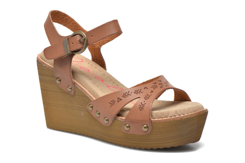 Sandales et nu-pieds Coolway Caleb Marron vue détail/paire