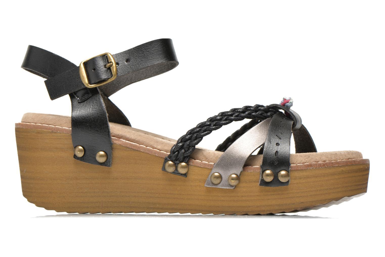 Sandales et nu-pieds Coolway Celine Noir vue derrière