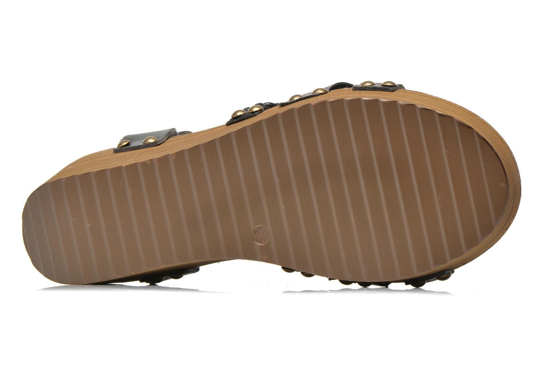 Sandales et nu-pieds Coolway Celine Noir vue haut