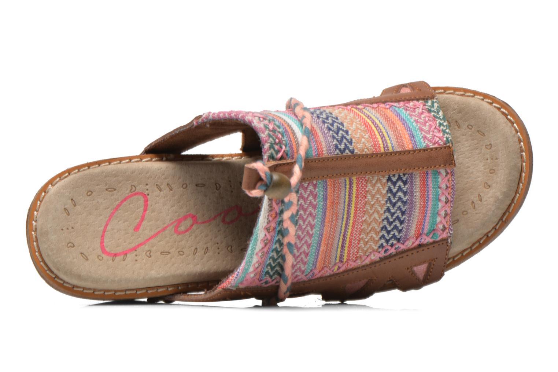 Clogs & Pantoletten Coolway Cinnamon mehrfarbig ansicht von links