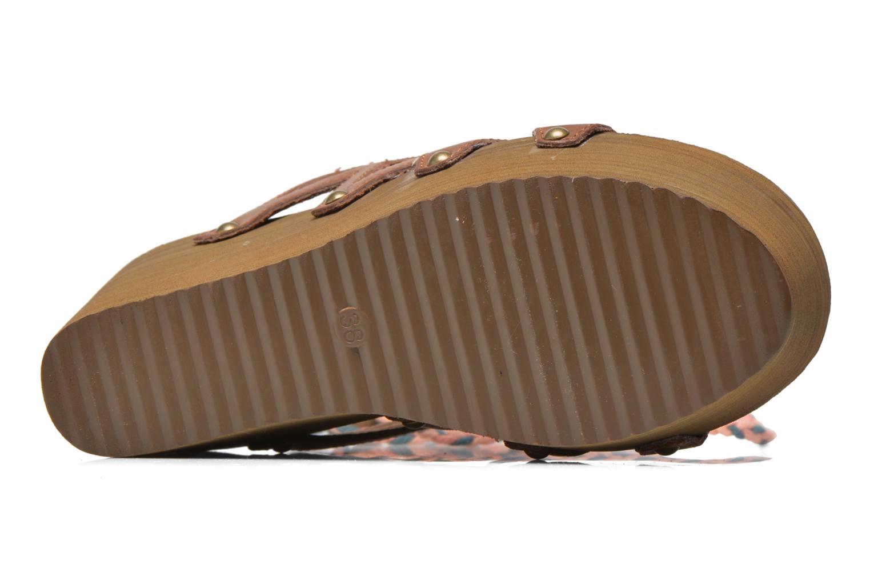 Clogs & Pantoletten Coolway Cinnamon mehrfarbig ansicht von oben