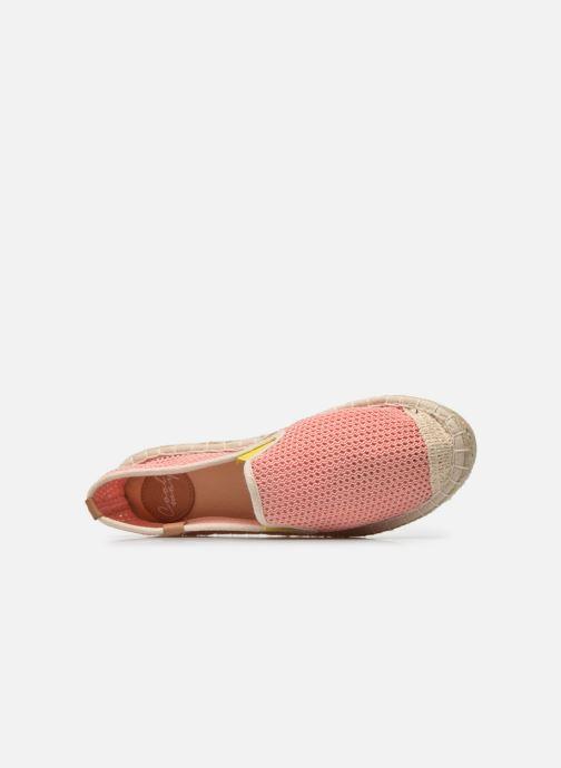 Scarpe di corda Coolway Jaipur Rosa immagine sinistra