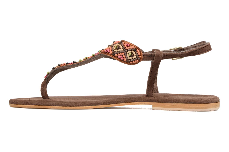 Sandali e scarpe aperte Coolway Miami Marrone immagine frontale