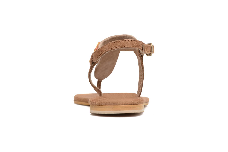 Sandali e scarpe aperte Coolway Miami Marrone immagine destra