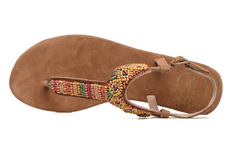 Sandali e scarpe aperte Coolway Miami Marrone immagine sinistra