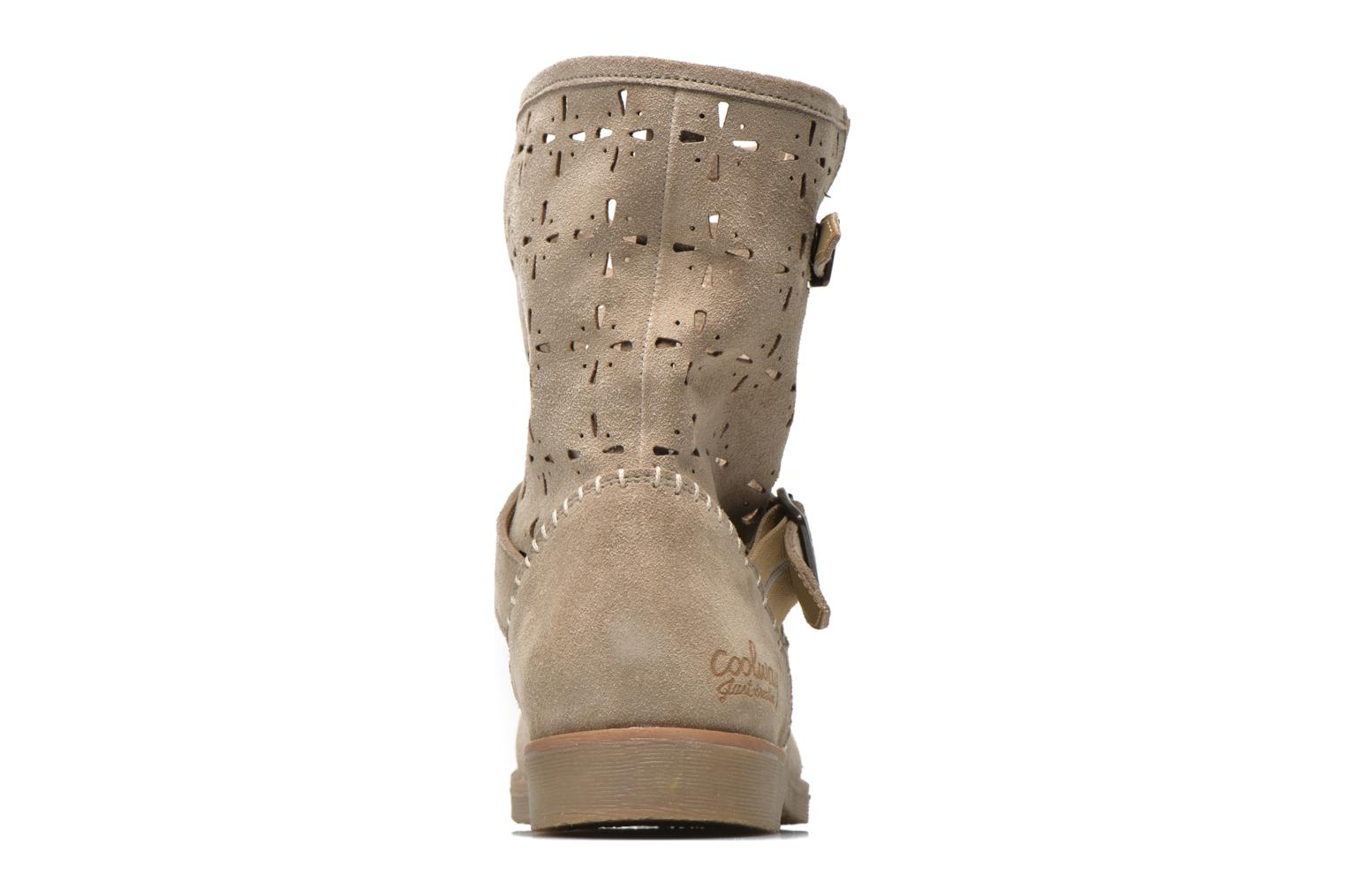 Ankle boots Coolway Naif Beige view from the right