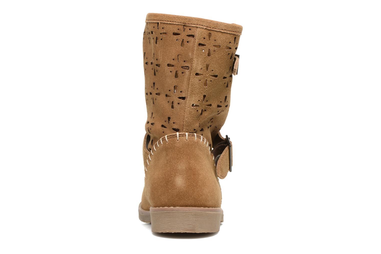 Bottines et boots Coolway Naif Marron vue droite