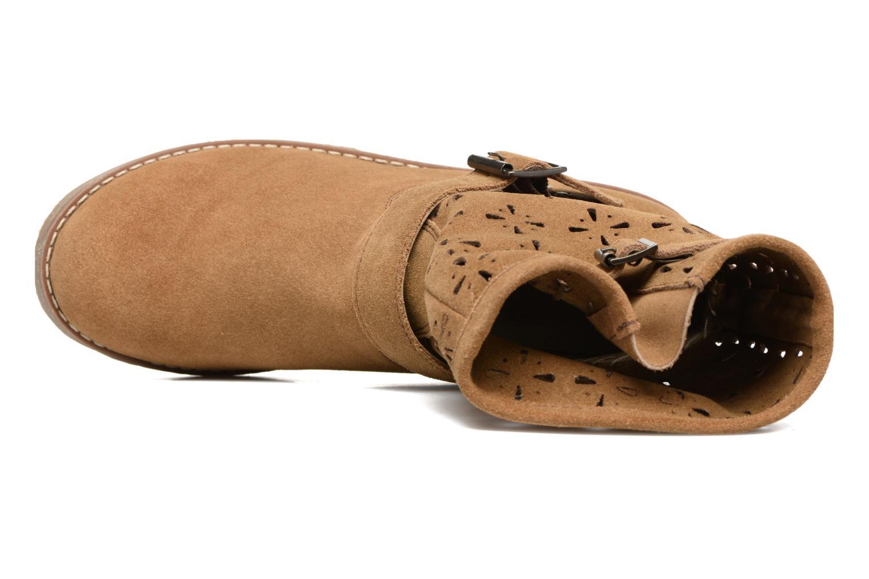 Bottines et boots Coolway Naif Marron vue gauche