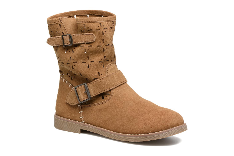 Bottines et boots Coolway Naif Marron vue détail/paire