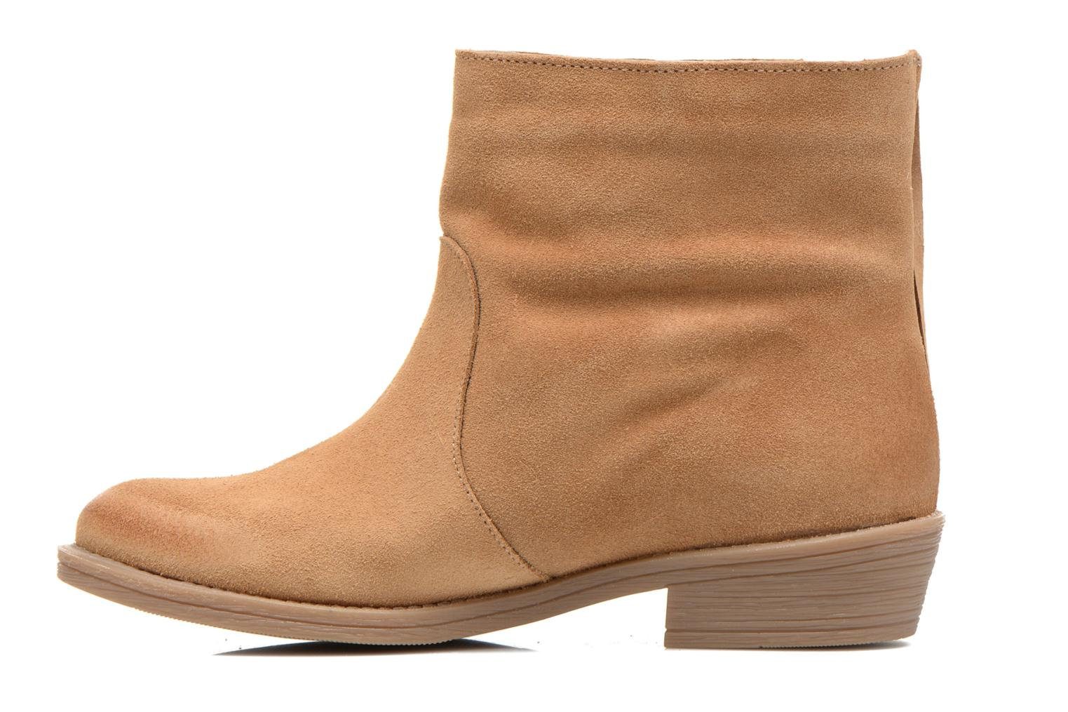 Ankle boots Coolway Naomi Brown front view