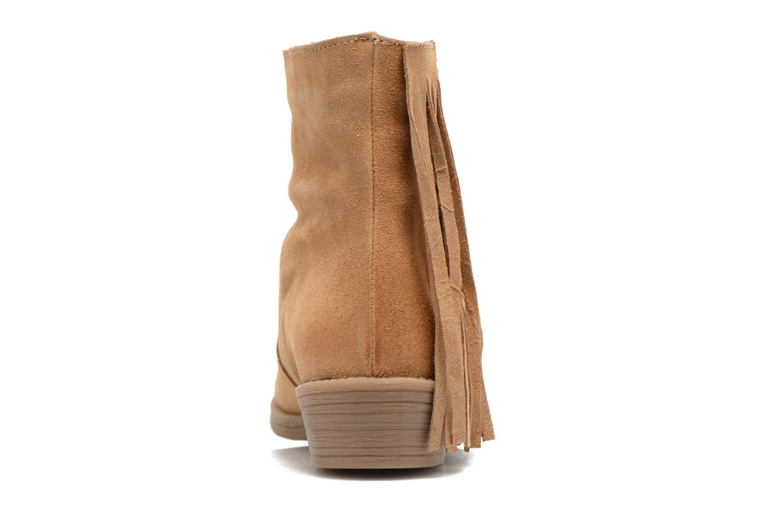 Ankle boots Coolway Naomi Brown view from the right