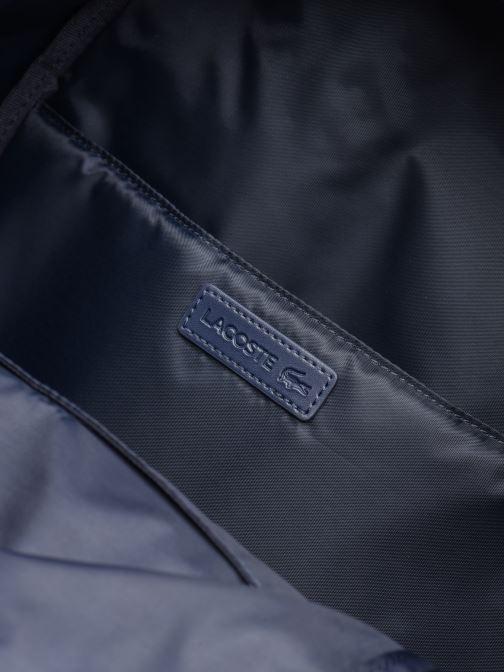 Sacs à dos Lacoste NEOCROC Backpack Bleu vue derrière