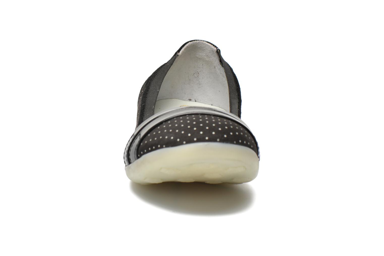 Ballerines Kickers Amberi 2 Noir vue portées chaussures