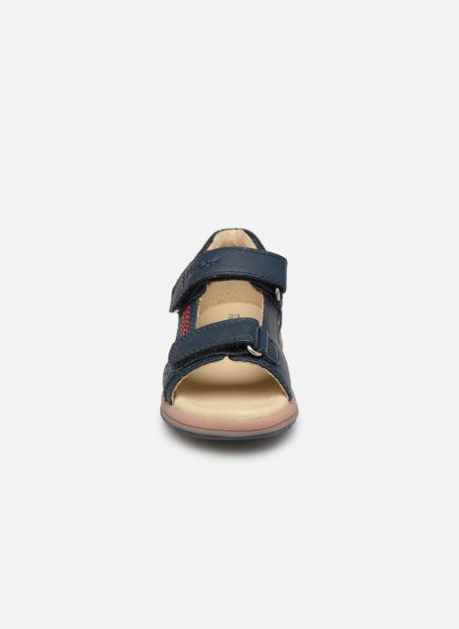 Sandaler Kickers Plazabi Blå se skoene på