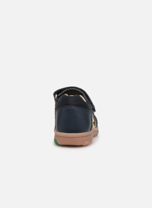Sandalen Kickers Plazabi Blauw rechts
