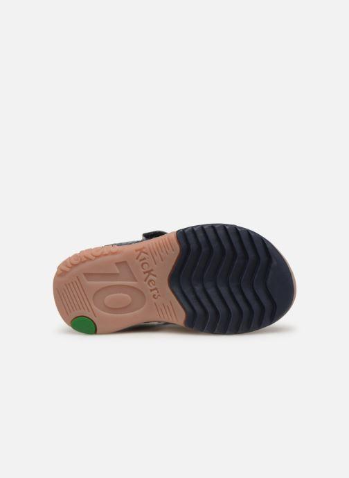 Sandaler Kickers Plazabi Blå se foroven