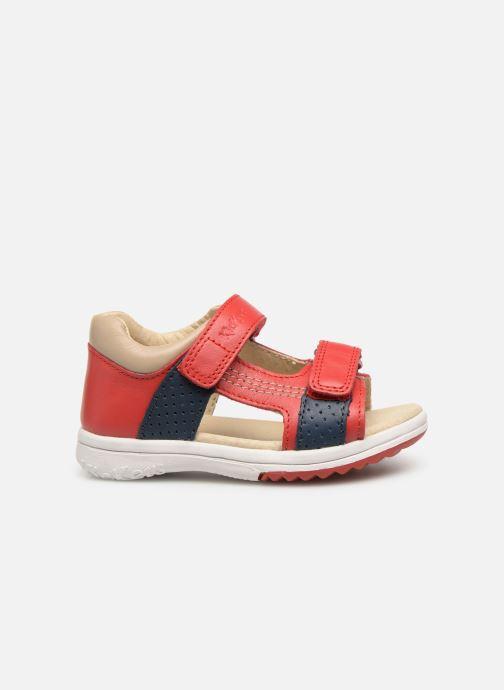 Sandales et nu-pieds Kickers Plazabi Rouge vue derrière