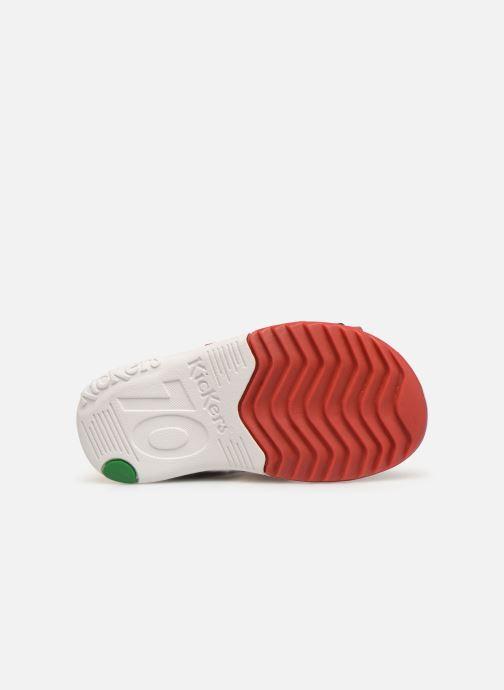 Sandales et nu-pieds Kickers Plazabi Rouge vue haut