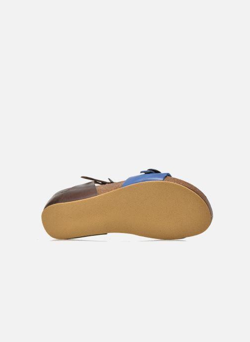 Sandalias Kickers Bombom Azul vista de arriba