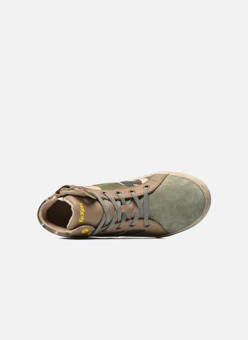 Sneakers Kickers Lynx Groen links