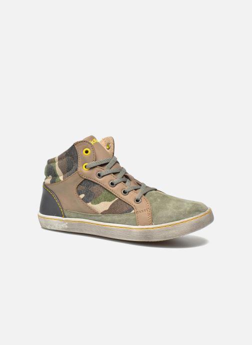 Sneakers Kickers Lynx Groen detail