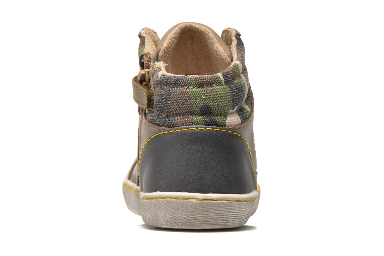 Sneakers Kickers Lynx Grøn Se fra højre
