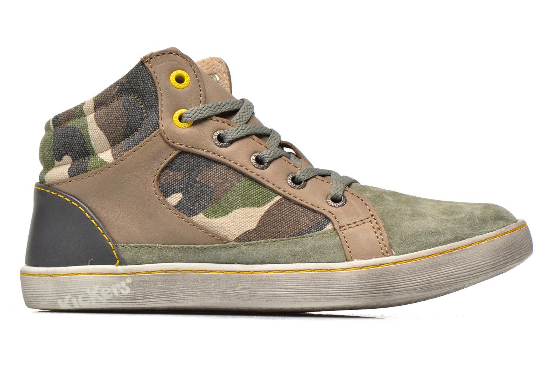 Sneakers Kickers Lynx Grøn se bagfra