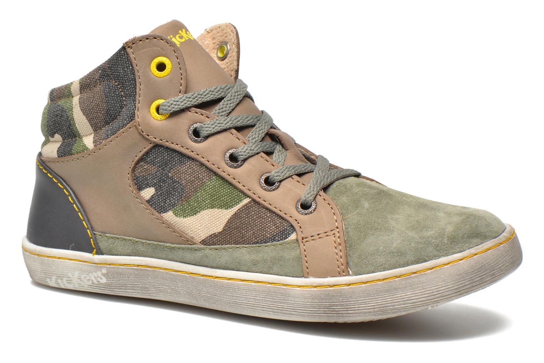 Sneakers Kickers Lynx Grøn detaljeret billede af skoene