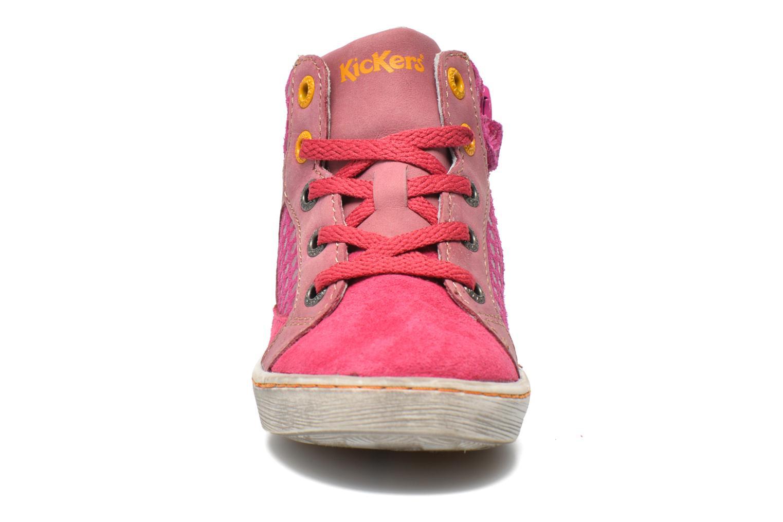 Sneakers Kickers Lynx Pink se skoene på