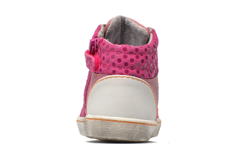 Sneakers Kickers Lynx Pink Se fra højre