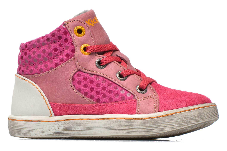 Sneakers Kickers Lynx Pink se bagfra