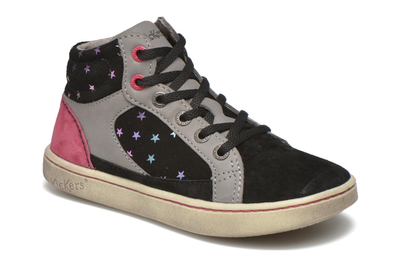 Sneakers Kickers Lynx Sort detaljeret billede af skoene