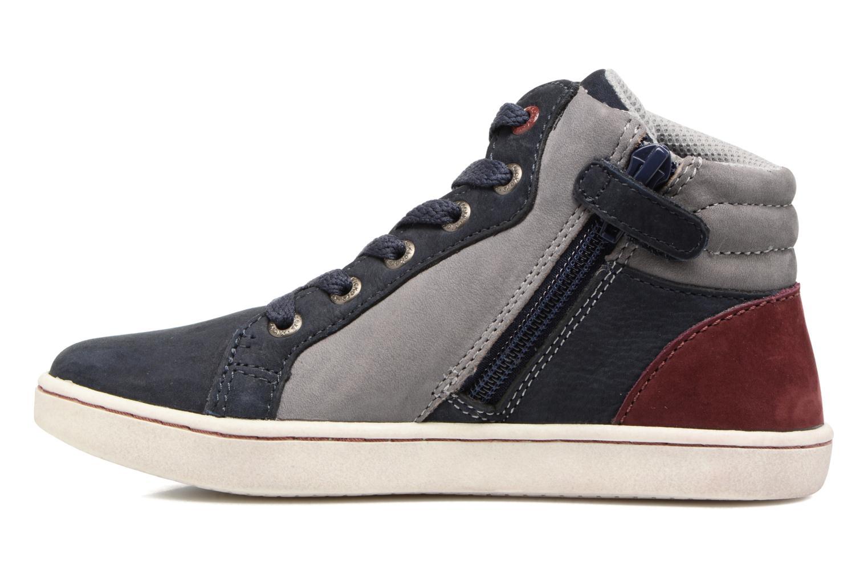 Sneakers Kickers Lynx Blå se forfra