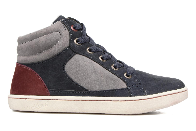 Sneakers Kickers Lynx Blå se bagfra