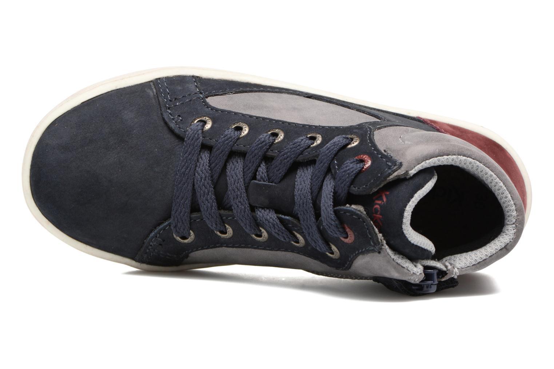 Sneakers Kickers Lynx Blå se fra venstre